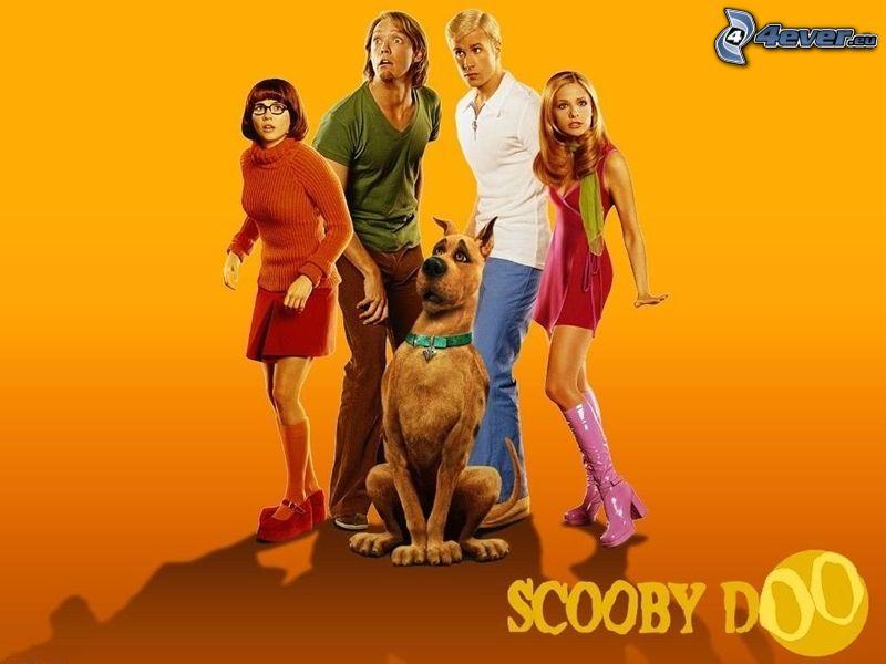 Scooby Doo, Hund, Menschen