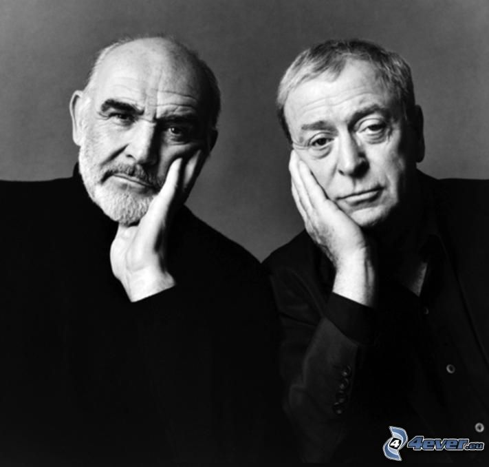 Sean Connery, Michael Caine