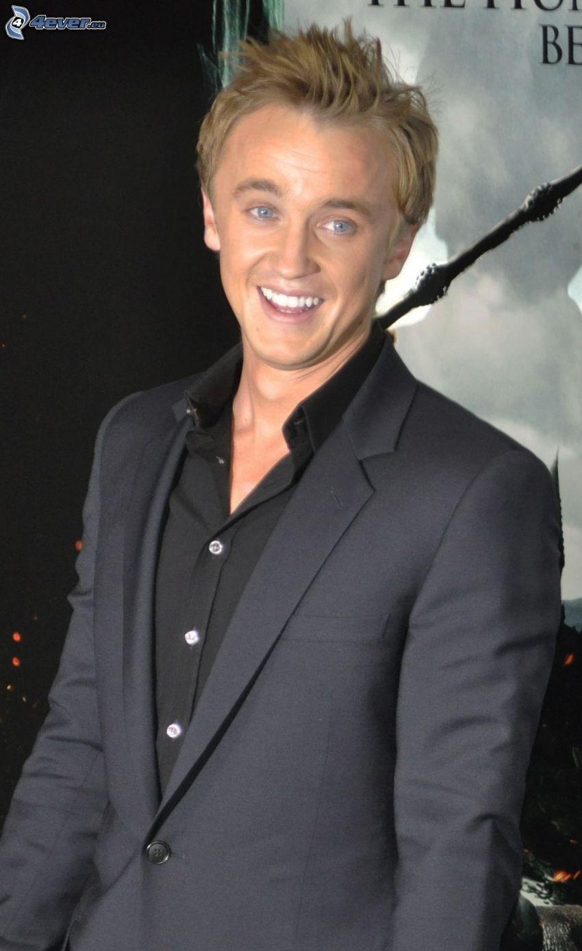 Tom Felton, mann im Anzug