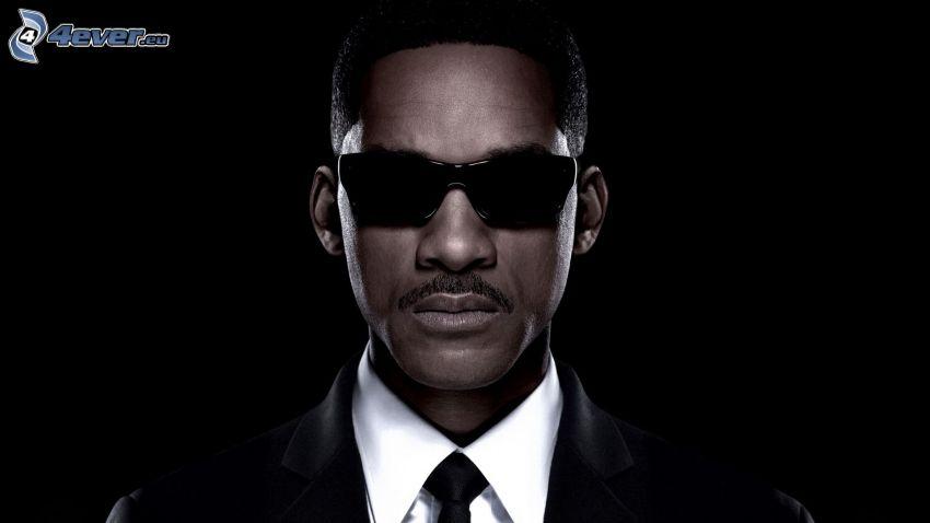 Will Smith, Mann mit Brille, mann im Anzug