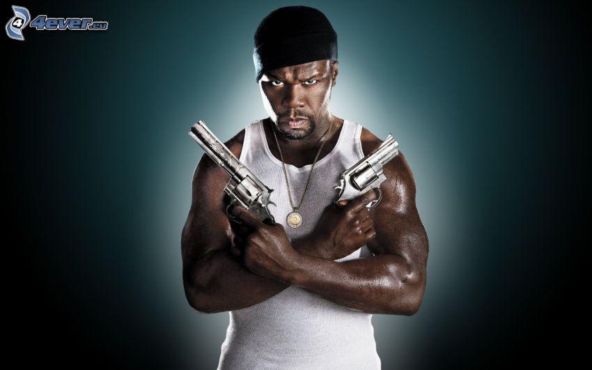 50 Cent, Pistolen