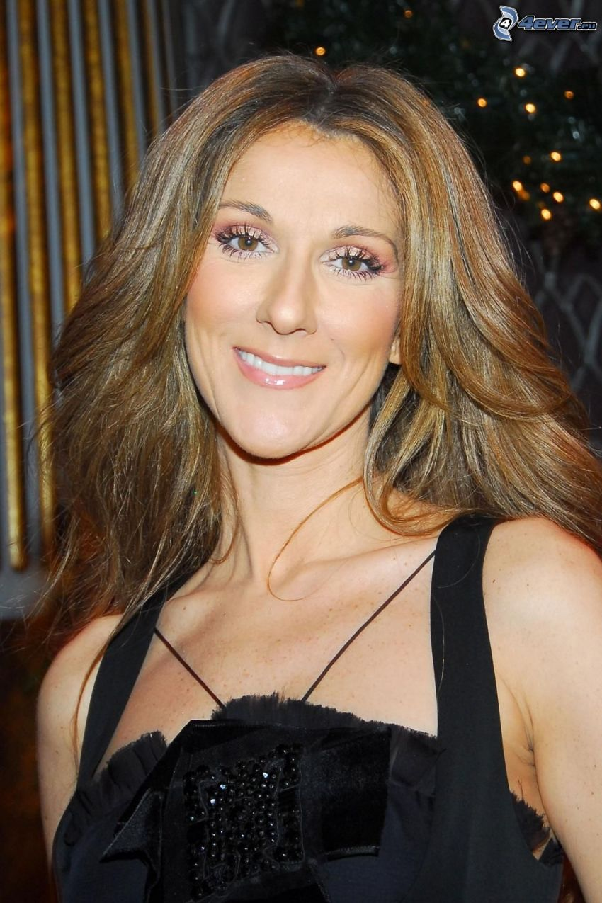 Celine Dion, Lächeln
