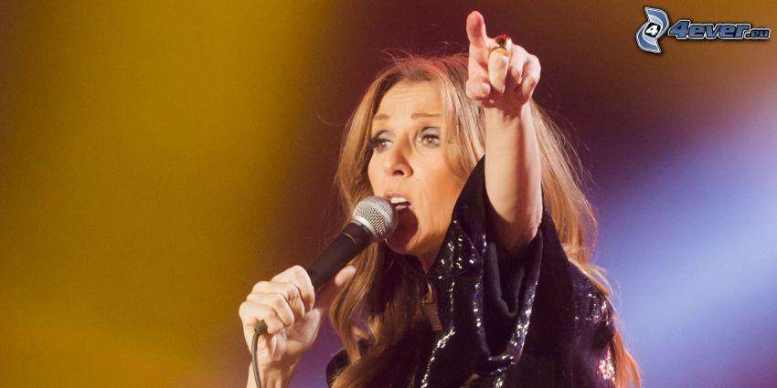 Celine Dion, Singen