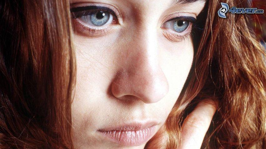 Fiona Apple, blaue Augen