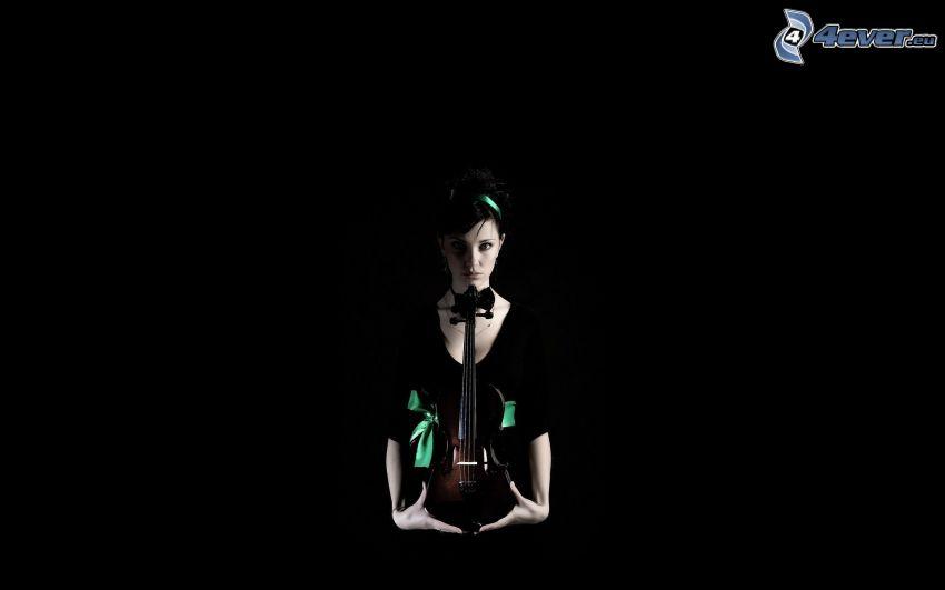 Geigerin, Violine