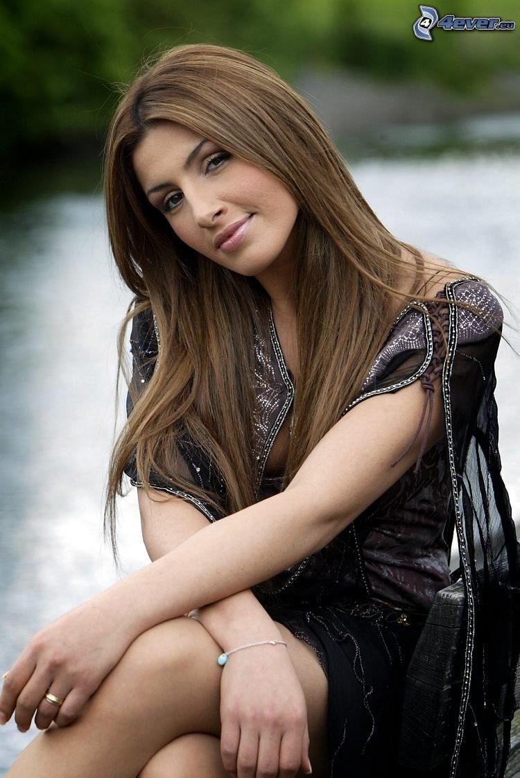 Helena Paparizou, schwarzes Kleid