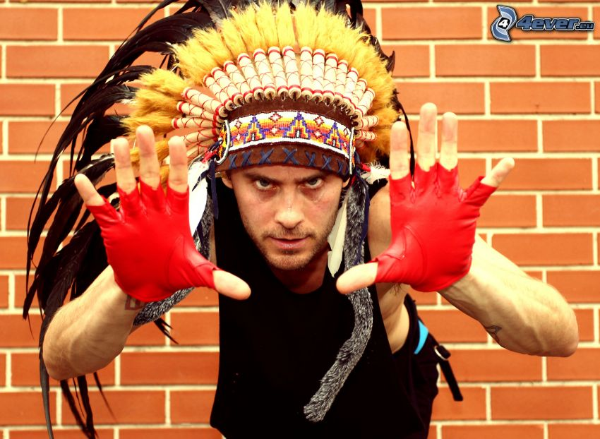 Jared Leto, 30 Seconds to Mars, Indianer, Mauer