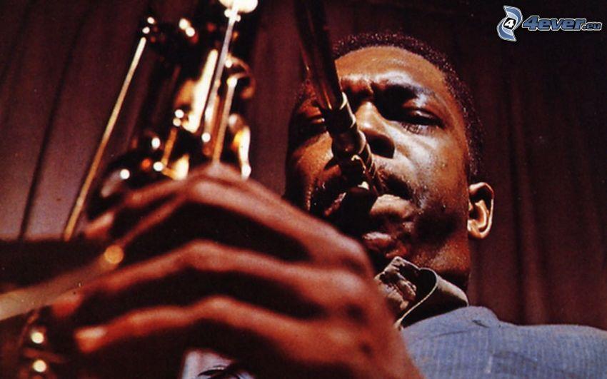 John Coltrane, Saxophonist