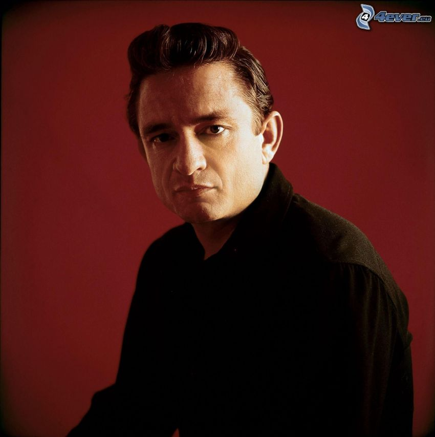Johnny Cash, altes Foto