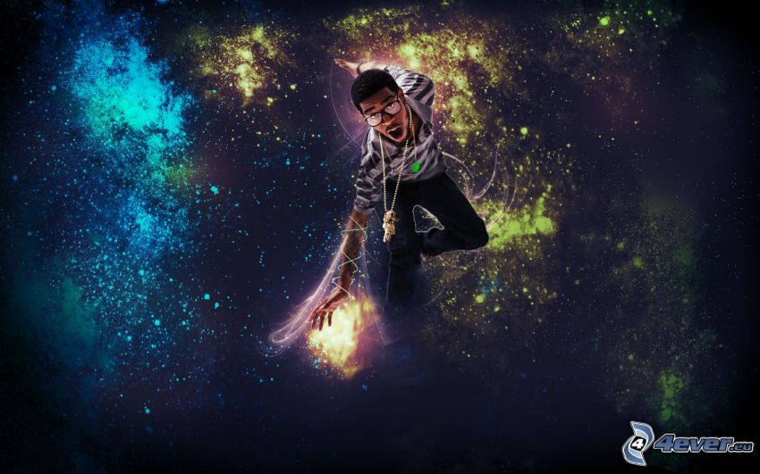 Kid Cudi, digitale Kunst
