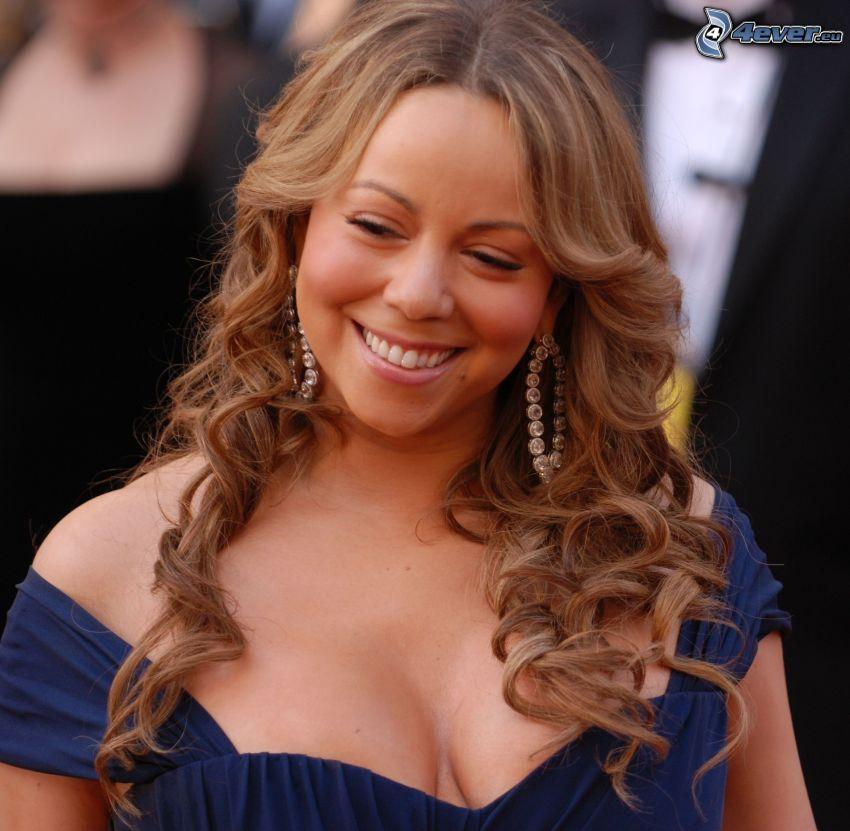 Mariah Carrey, Lächeln, lockiges Haar