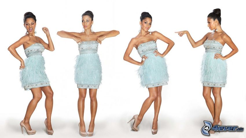 Nicole Scherzinger, Minikleid