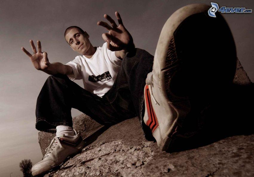 rap, hip hop, Felsen