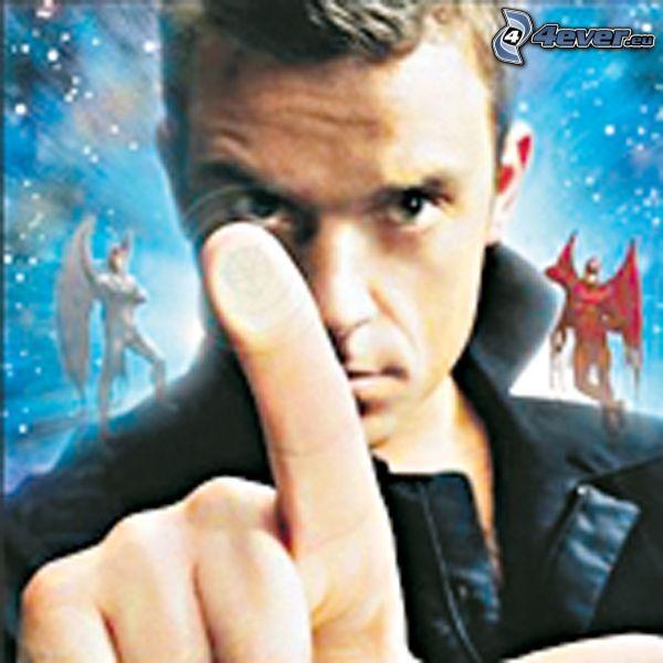 Robbie Williams, Sänger, Mann