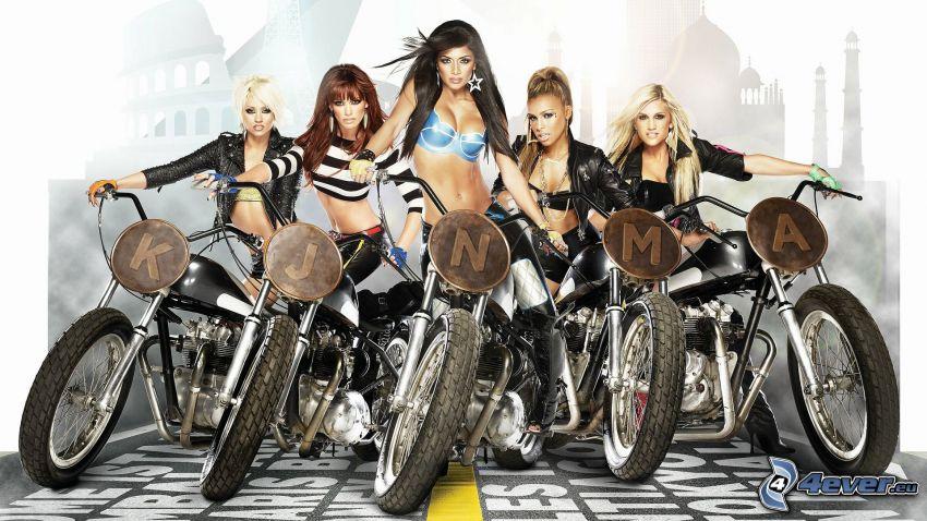 The Pussycat Dolls, Motorräder
