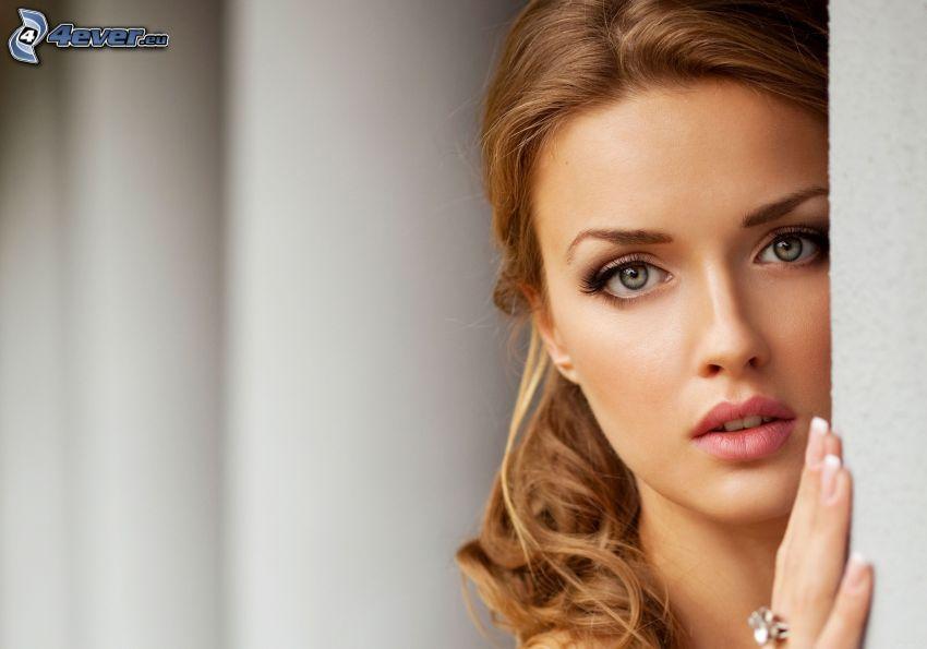 schöne Frau Gesicht
