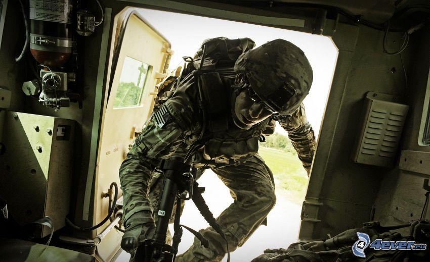 Soldat, HDR
