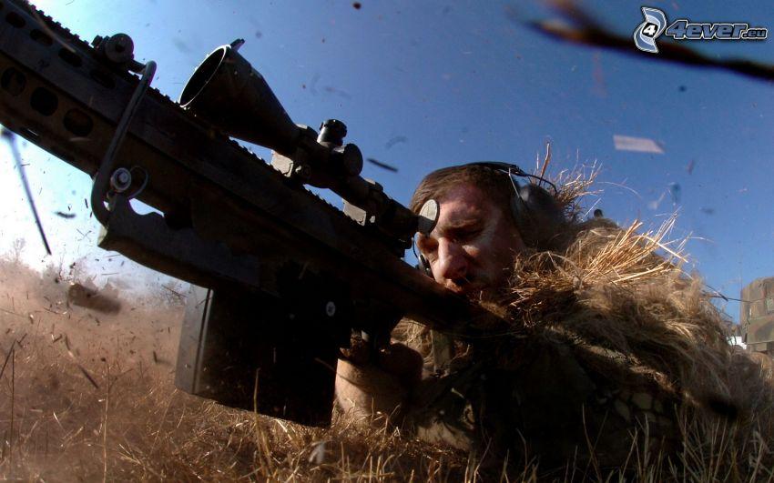 Soldat, sniper