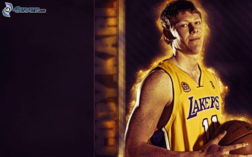 Coby Karl, LA Lakers, NBA, Basketballspieler