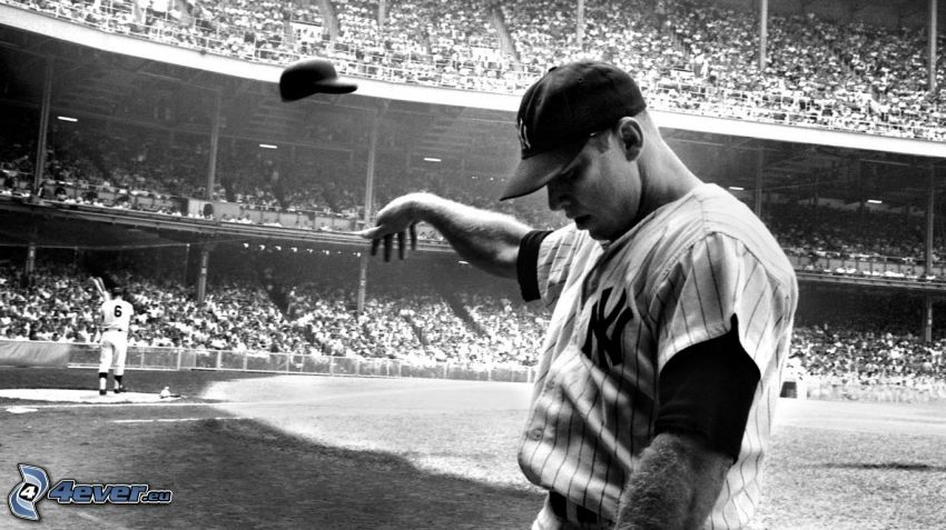 Mickey Mantle, baseball