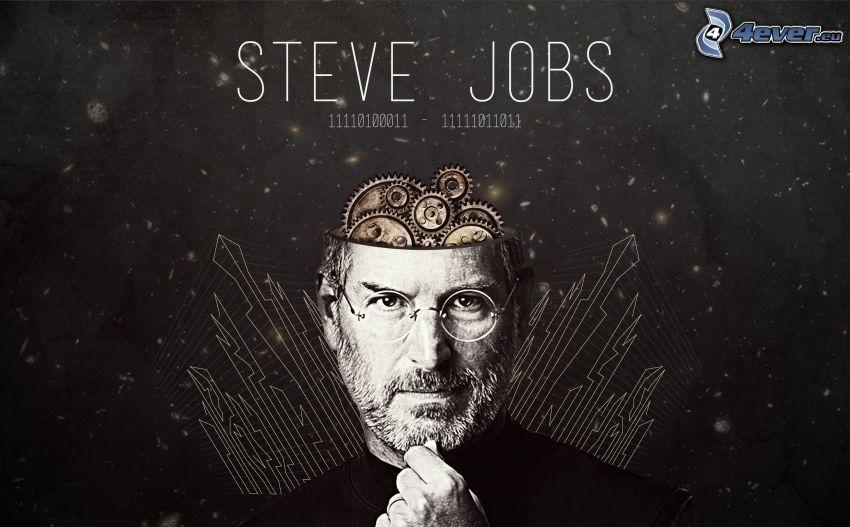Steve Jobs, Zahnräder