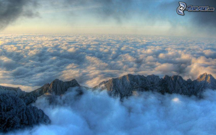 auf einem hohen berge