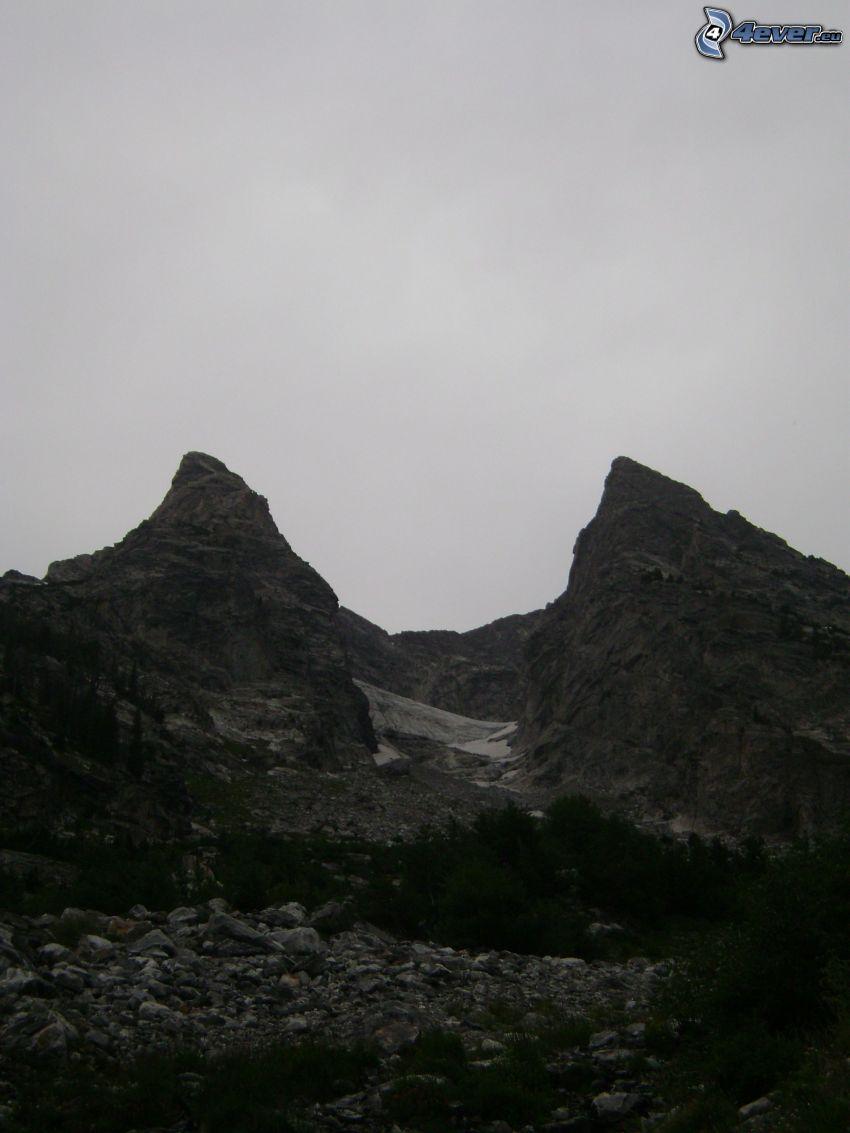 Mount Moran, Wyoming, Felsen