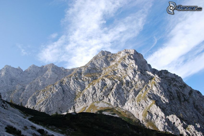 Totes Gebirge, felsige Berge