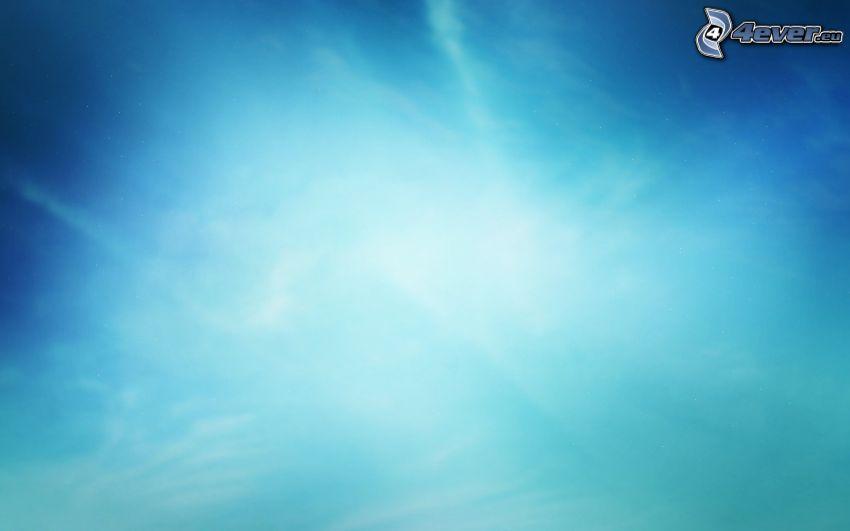 Himmel, blauer Hintergrund