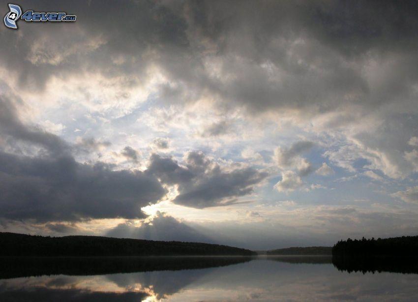 See, Wolken
