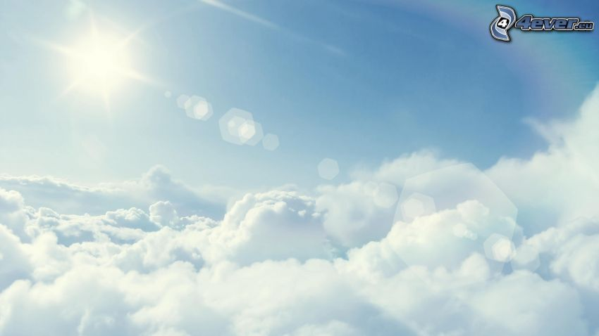über den Wolken, Sonne