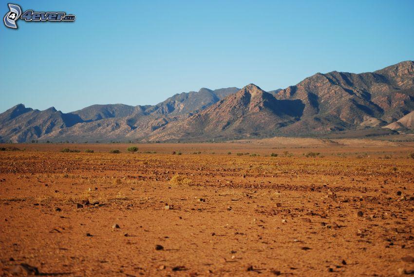 Hügel, Wüste