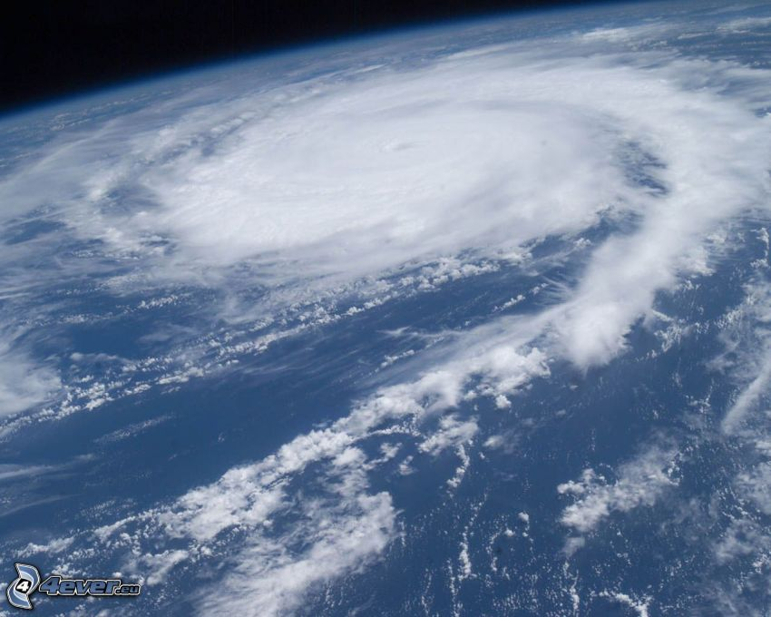 Hurrikan, Meer