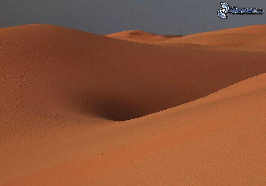 Sanddünen, Wüste