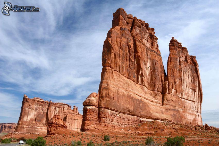 Utah National Park, Felsen