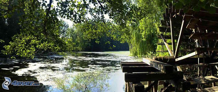 Wassermühle, Fluss