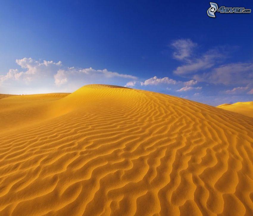 Wüste, Sand