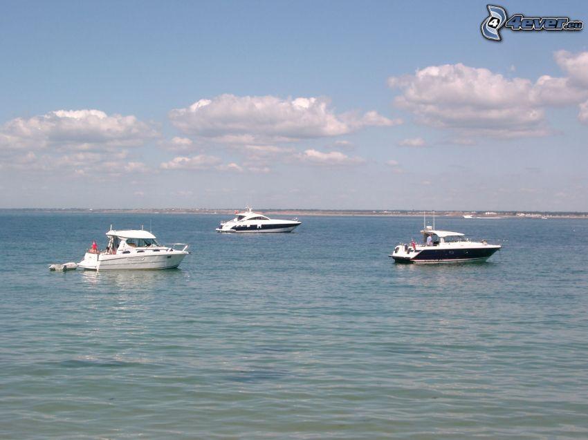 Yachten, Bucht