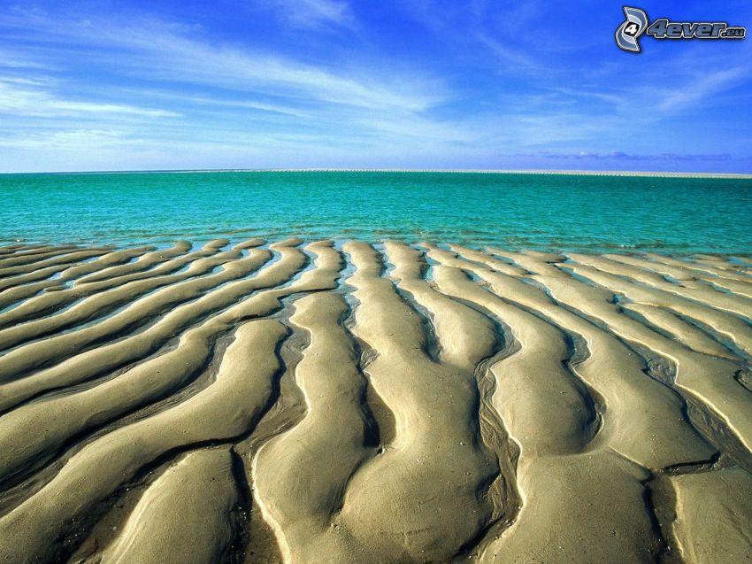 Dünen, Meer, Strand, Himmel