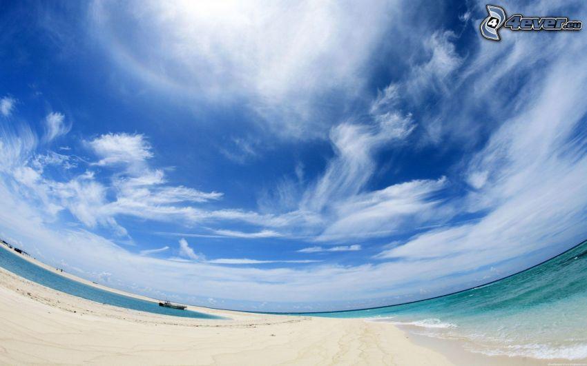 Himmel, Wolken, Meer