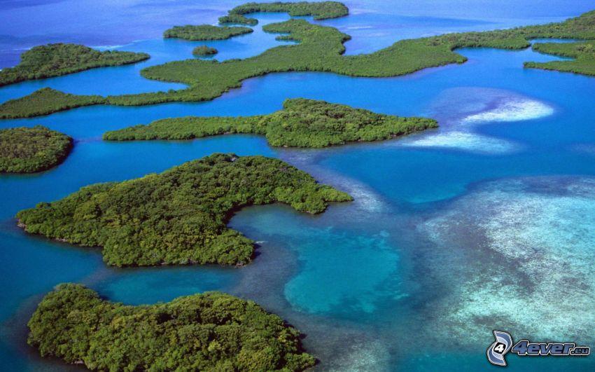 Inseln, Meer, Amerika