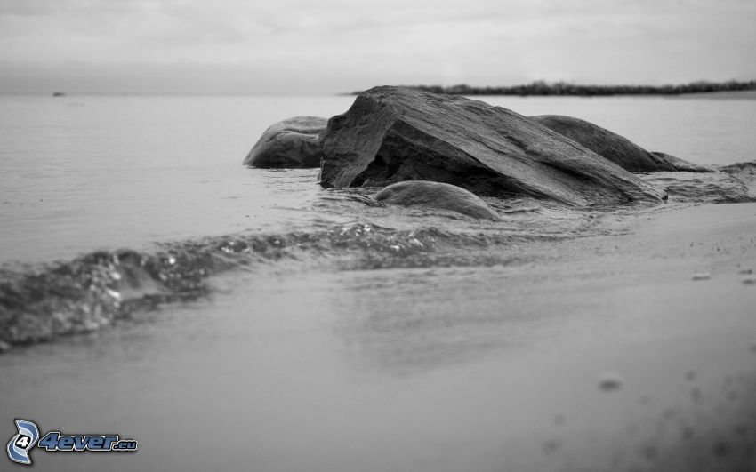 Steine, Meer, Strand