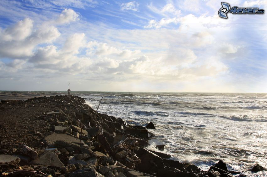 Ufer, Meer