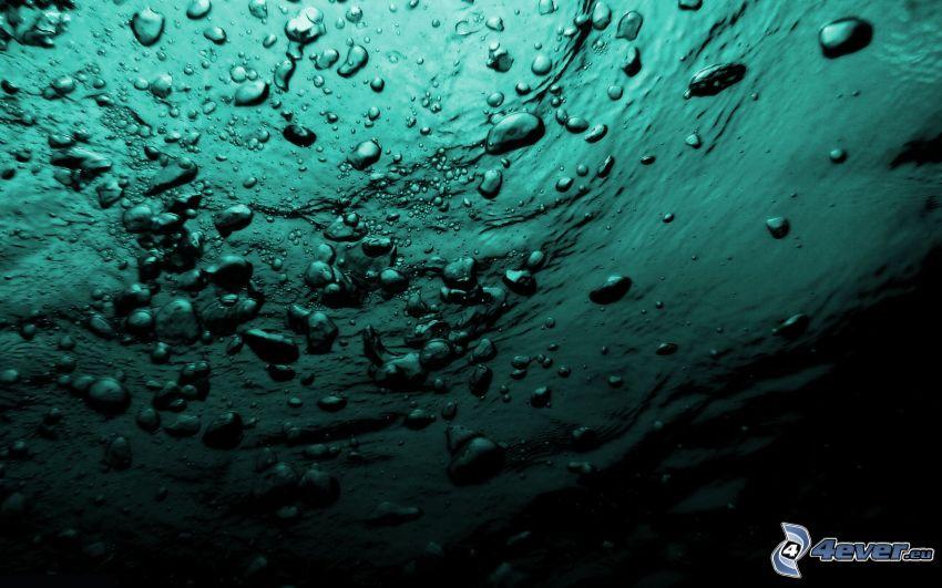 Wasser, Blasen