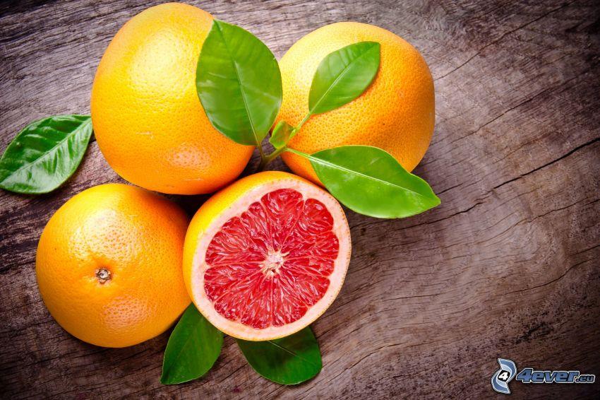 Grapefruit, Blätter