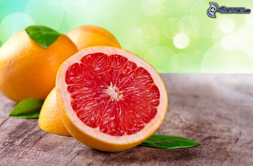 Grapefruit, Kreisen