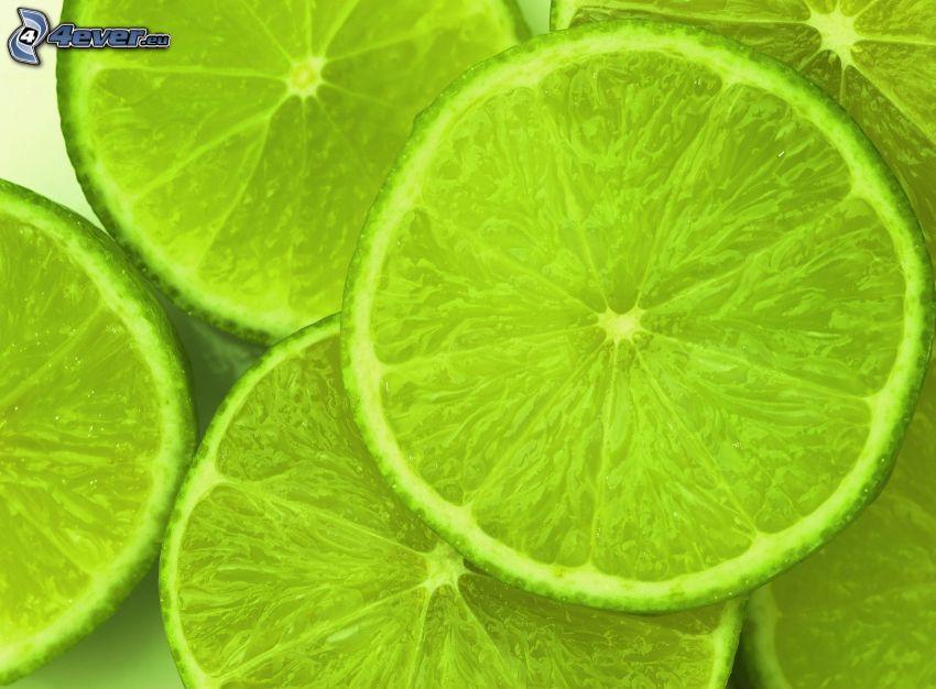 grüne Limettten