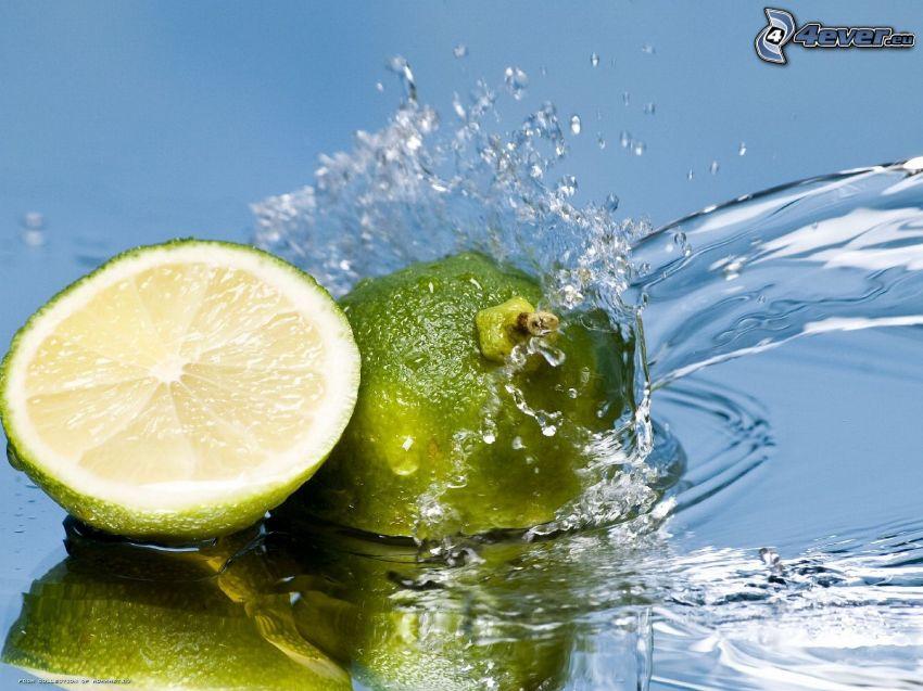 Limetten, Wasserstrom