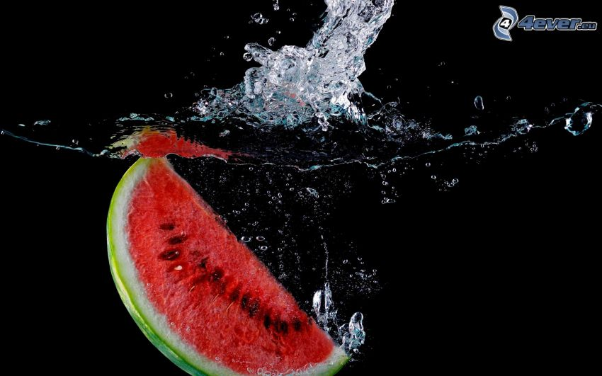 Wassermelon, splash