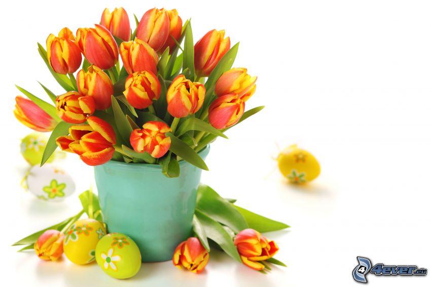 Tulpen, Blumensträuße